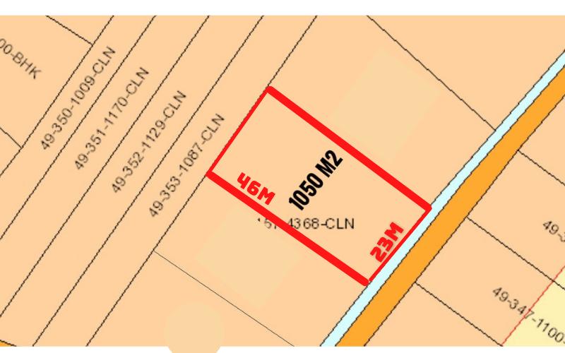 Bán Đất Chính Chủ Nhơn Trạch diện tích 23 x 46 tổng 1.050 m2 giá đầu tư